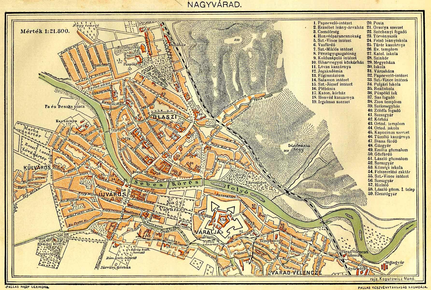 RadixHub Oradea Maps - Oradea map