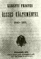 Kerényi Frigyes kötete (28751 bytes)